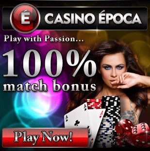 Epoca Casino 200 free spins bonus