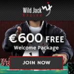 Wild Jack Casino $1600 free play slots and 100 bonus free spins