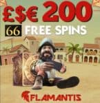 Flamantis Casino 66 free spins and 100% free bonus