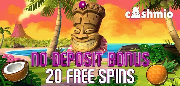 No Deposit Bonus 20 free spins on Aloha! Cluster Pays slot by NetEnt