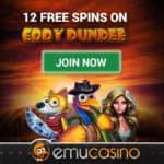 EmuCasino 12 free spins no deposit bonus on registration!