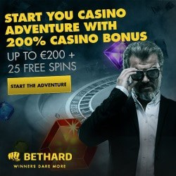 Bethard Casino 660 free spins and $750 welcome bonus