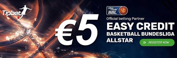 5 EUR gratis bet