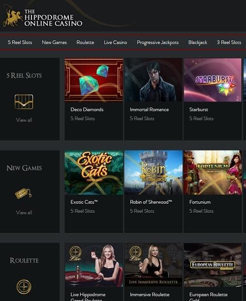 Hippodrome Casino Reviews