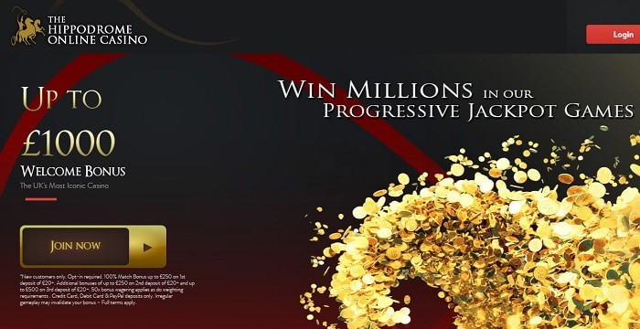 Hippodrome Online Casino Free Play Games