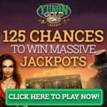 Yukon Gold Casino 125 free spins bonus on jackpot slot Mega Moolah™
