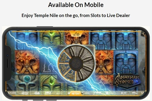 Temple Nile Online Casino mobile & live games