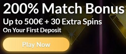 105 free spins bonus and 1500 euro free money