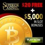 Is Superior Casino legit? Get $25 FREE + $5,000 bitcoin bonus