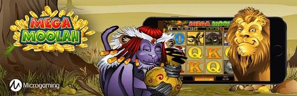 Mega Moolah - mobile game