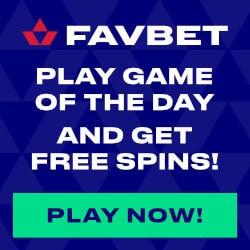 FavBet Casino Full Review: free bets, gratis spins, cashback bonus