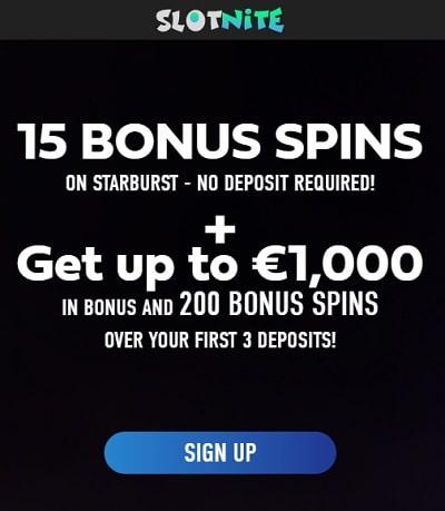 15 free spins no deposit required! Exclusive welcome bonus!