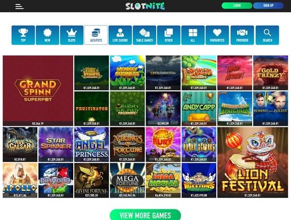 Exclusive Casino Games with free bonus