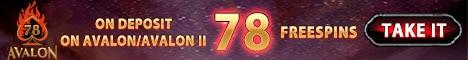 78 free spins gratis
