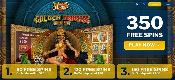 350 free spins, no deposit bonuses, exclusive promotional codes