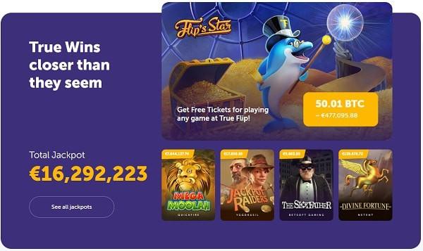 Play progressive slots and win mega jackpots