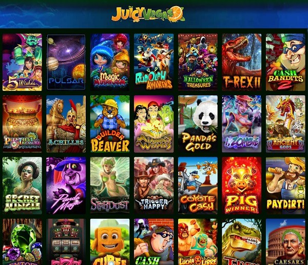 Juicy Vegas Casino free spins, bonus money, promo codes