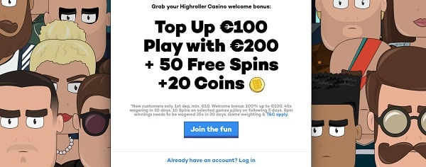 Play free spins on slots