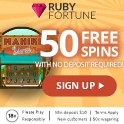 50 gratis spins bonus