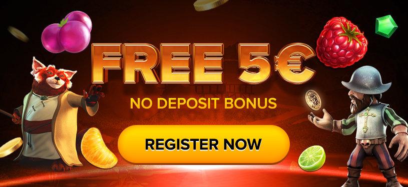 5 EUR free bonus money