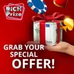 Rich Prize Casino 5 EUR no deposit needed & free bonus codes