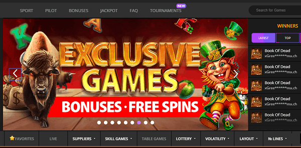 Exclusive Games and Free Spins Bonuses