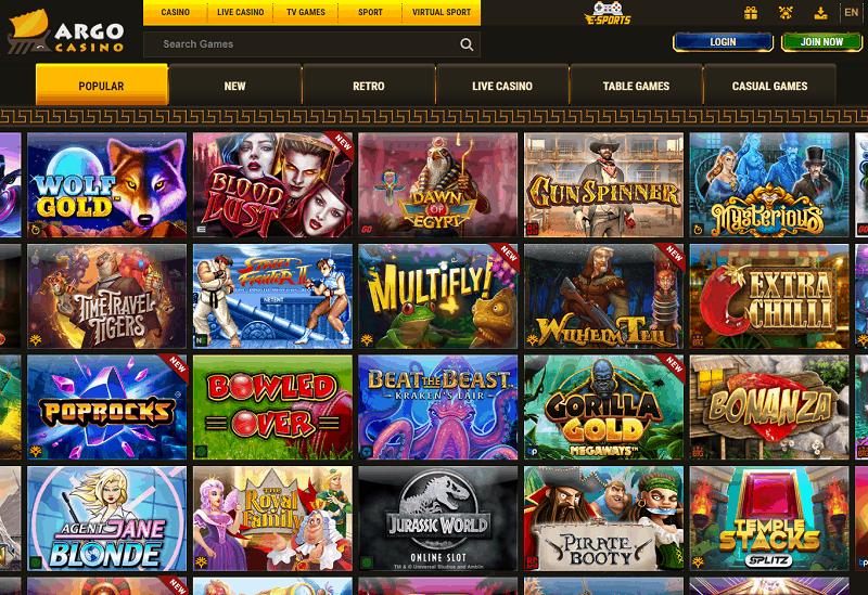 Argo Casino Full Review