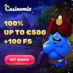 How to get 300 free spins welcome bonus to Casinomia Casino?