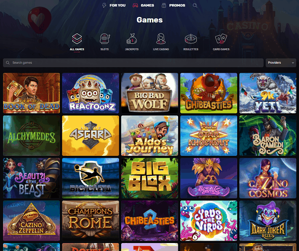 Welcome to Casinomia Online Casino!