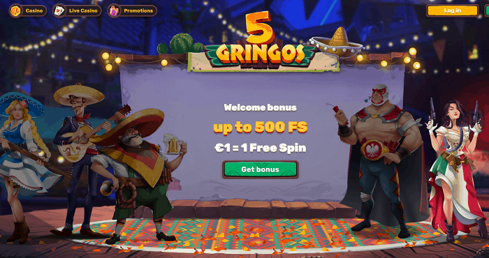 500 Free Spins