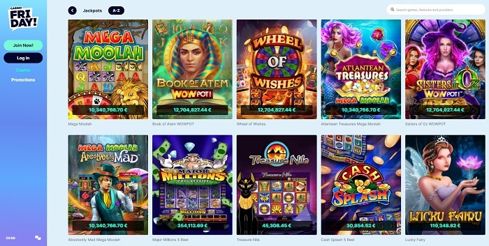 200 free spins on progressive jackpot slots