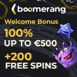 Register at Boomerang and win big money!