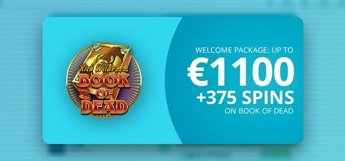 375 gratis spins on slots from Play N Go