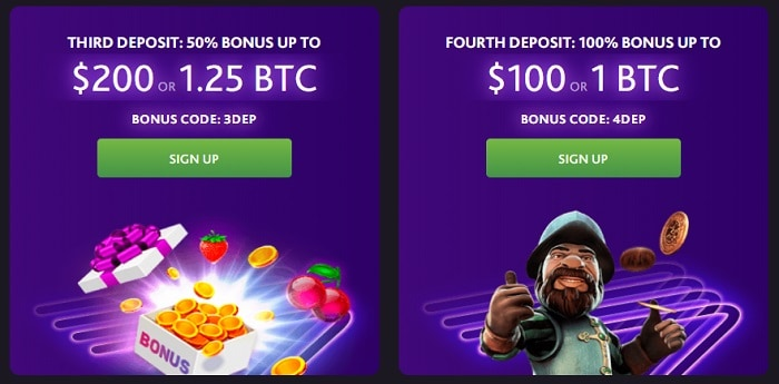 3rd and th deposit bonus
